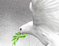 Poster: Peace to world
