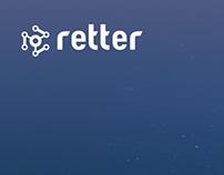 retter website concept