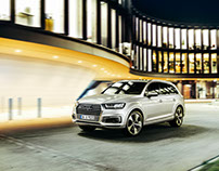 AUDI Q7 ETRON FOR AUDI MAGAZIN