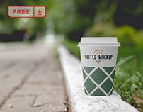Free Coffee Cup Mockup Vol.2