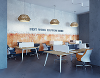 coworking - bachelor degree project