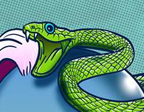 Cazadora de Serpientes