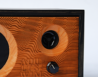 Laser Engraved Speaker