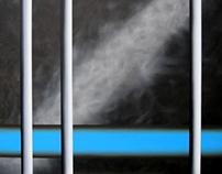 Black and Blue series (oil paintings)