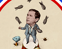 Animated Bush Gifs - Political Collages and Satire