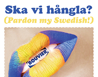 Pardon my Swedish poster
