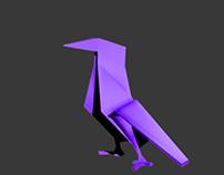 3D ORiGAMi_BIRD