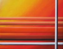 Orange series (oil paintings)