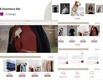 E-Commerce site (UI Design)
