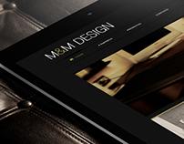 M&M Design website