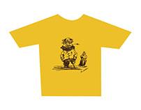 Master Mariner t-shirt design and illustration.