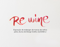 Re Wine - Redesign de Vinhos