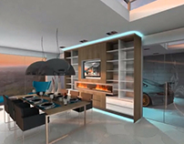 3D Animation kitchen