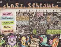 CLASS SCHEDULES 2009-2012