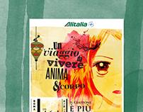 Alitalia   Postcard and Poster