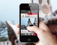 UI Design App HISTORIA