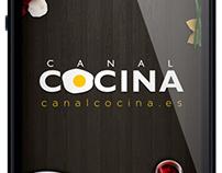 UI Design Canal Cocina app v 3.0