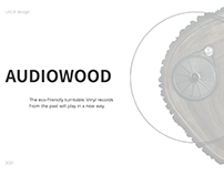 Landing page / Eco-friendly turntable