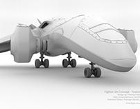 Fighter Jet Concept - Model