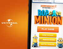 Universal Pictures - HTML 5 Despicable Me 2 Game