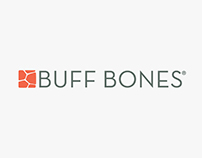 Buff Bones branding and marketing materials