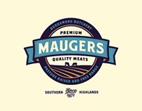 Maugers Meats - Brand Book