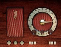 Vintage Radio Box
