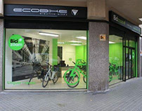 Ecobike Shop Design