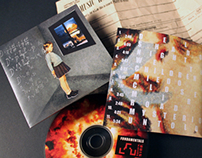 Square Sign CD Case