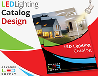 LED Lighting Catalog / Booklet Design | by Swan Media