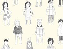 Kathy + Friends Wallpaper