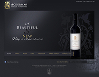 Ackerman - web design