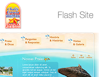 Flash Site - Chales Estrela do Mar
