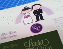 L&C Wedding Invitation