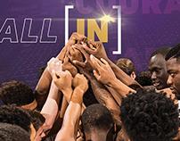 LSU Basketball Poster '16-17