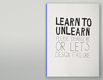 LEARN TO UNLEARN BOOK