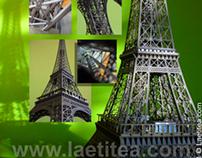 Tour Eiffel - chroma key compositing gallery one