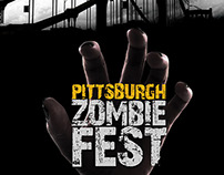Pittsburgh Zombie Fest Poster
