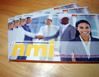 ASU Nonprofit Management Institute pamphlet