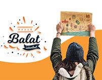 Balat İstanbul Map