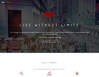 FDT Incubator Landing Page
