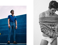 Something old+new+borrowed+blue for KALTBLUT Magazine