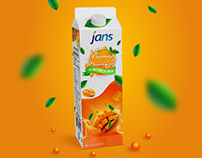 mango juice packaging