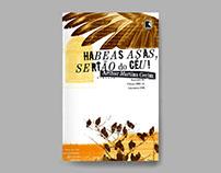 Book cover – Habeas asas, sertão de céu!