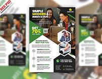 Digital Marketing Agency Flyer PSD