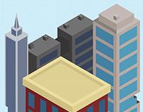 Urban Blight Spot Illustrations