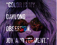 Color obsession (Monet)