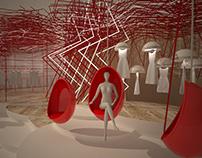 Red Showroom