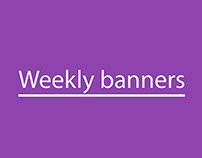 Weekly banners