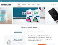 Nanofixit Ecommerce site